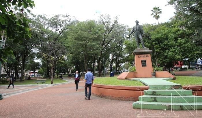 El circuito partirá a la 9:00, de la Plaza Uruguaya antigua sede del rancherío de esclavos de la orden de los Franciscanos. Foto: Archivo.