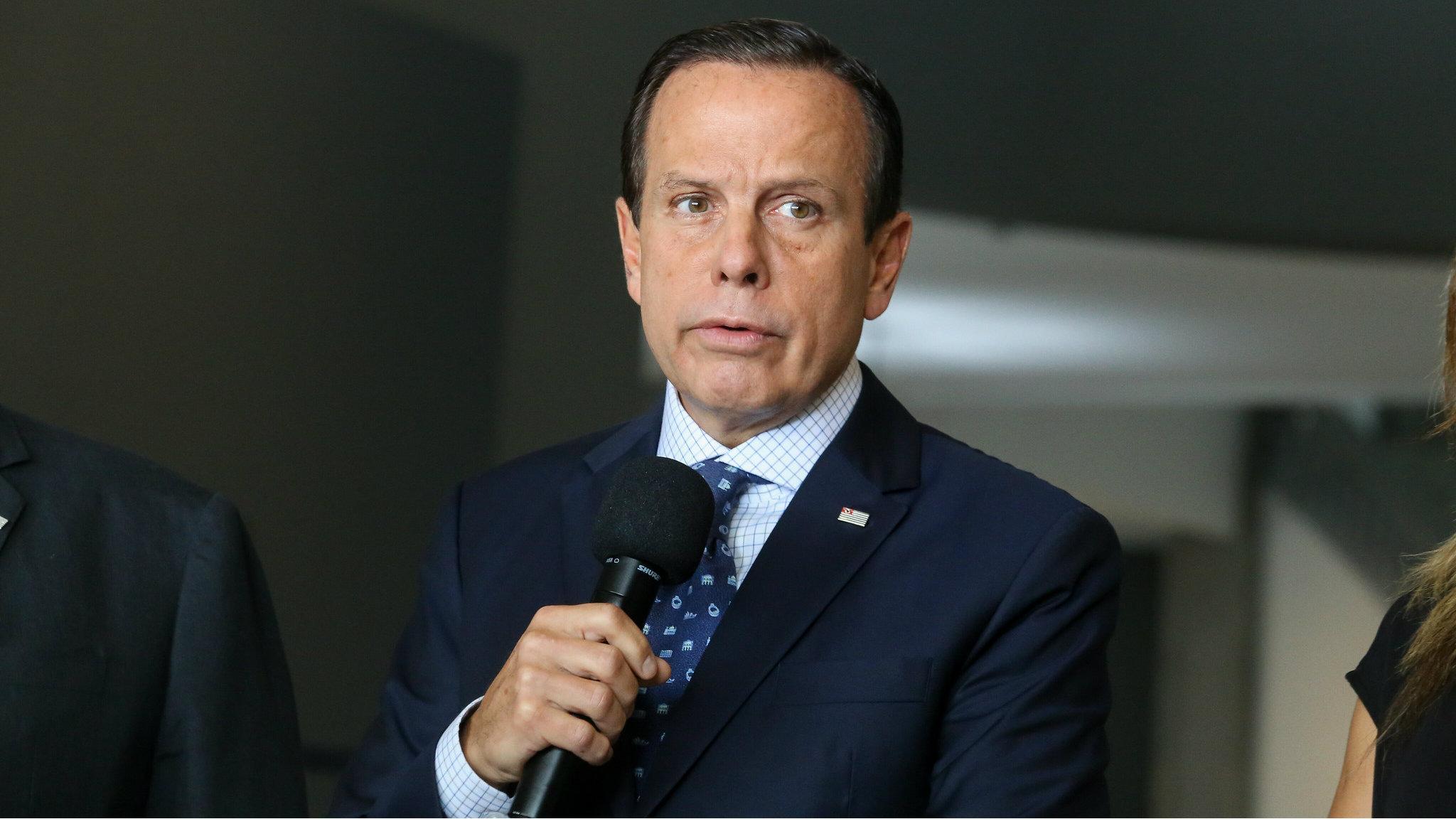La Nación / Doria, líder de gobernadores que desafían a Bolsonaro